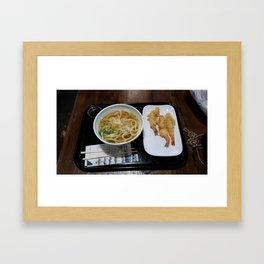 Lunch Time  Framed Art Print
