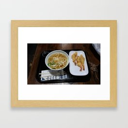 Lunch Time  Framed Art Print