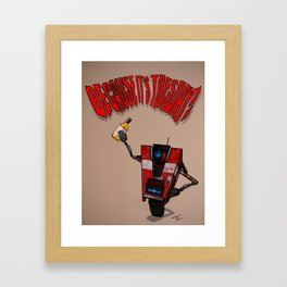 Claptrap Framed Art Print