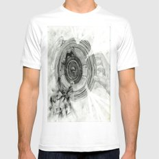 Inside My World Mens Fitted Tee White MEDIUM