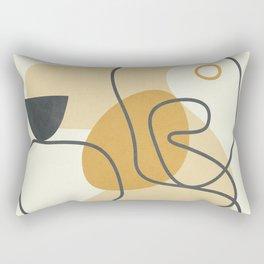 Abstract Line21 Rectangular Pillow