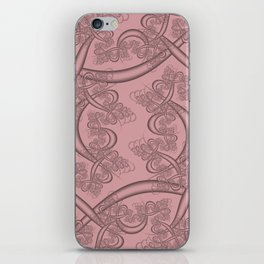 Bridal Rose Fractal iPhone Skin