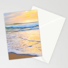 San Gregorio Beach Sunset Stationery Cards