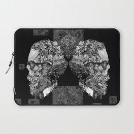 hipster floral skull 2 Laptop Sleeve