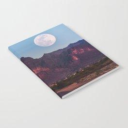 Super Blue Moon over Arizona #society6 #decor #buyart Notebook