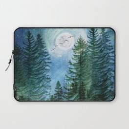Silent Forest Laptop Sleeve