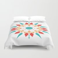 dream catcher Duvet Covers featuring Dream Catcher by ItsJessica