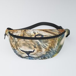 AnimalMix_Lion_005_by_JAMColors Fanny Pack