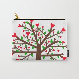 Tree of Love, Tree of Life Carry-All Pouch