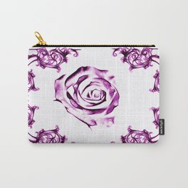 green damask rose Carry-All Pouch