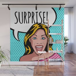 Surprise Wall Mural