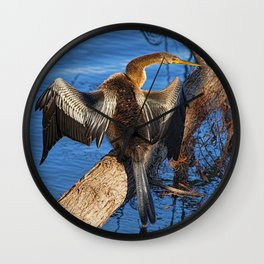 Drying Out Wall Clock