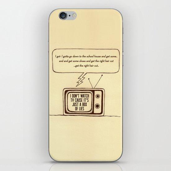 indy kidz iPhone & iPod Skin