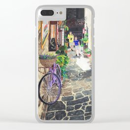 Cortona Clear iPhone Case