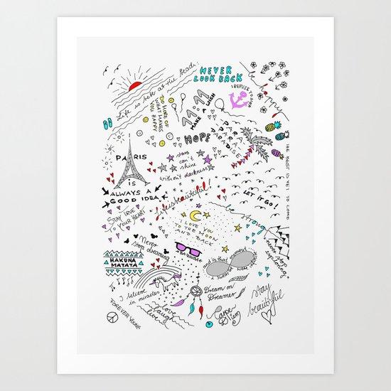 ALL IN ONE Art Print