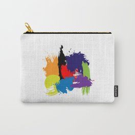 Artistic Brush Strokes Carry-All Pouch