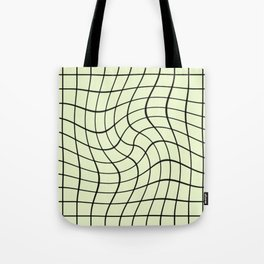 Plain Graph: Green Tote Bag