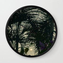 Coconut Moon Wall Clock