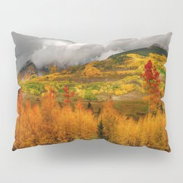 Autumn Scene at Crested Butte, Colorado Pillow Sham