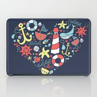 nautical iPad Cases featuring Nautical by lindsey salles