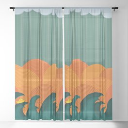 Solitude Sheer Curtain