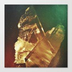 Space Crystal IV Canvas Print