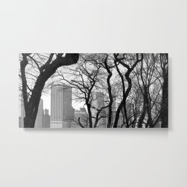 Organic New York Metal Print