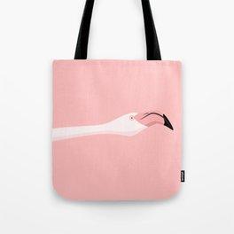 Flying flamingo Tote Bag