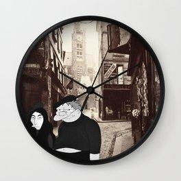 Revolution 8 Wall Clock