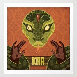 Kaa Art Print
