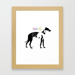 CAT&DOG Framed Art Print