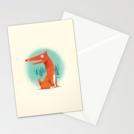 Red Dog Stationery Cards