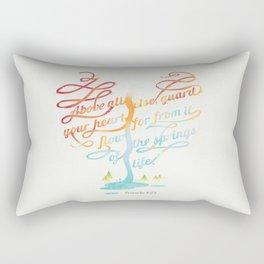 You heart Rectangular Pillow