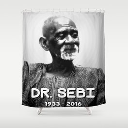 Dr. Sebi Shower Curtain