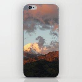 Atardecer en Guaranda iPhone Skin
