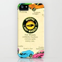 1969 Hot Wheels Redline Poster iPhone Case