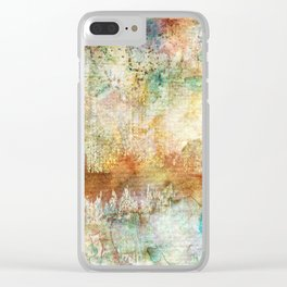 CITY SOUNDS Clear iPhone Case