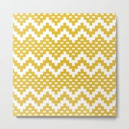 Snake Trail Southwestern Pattern 427 Metal Print