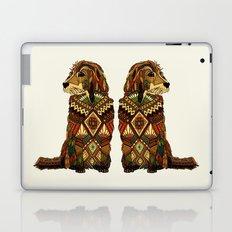 Golden Retriever ivory Laptop & iPad Skin