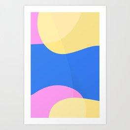 Game pattern Art Print