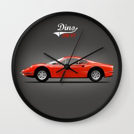 The Dino 246 GT Wall Clock