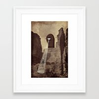 doom Framed Art Prints featuring doom! by Pope Saint Victor