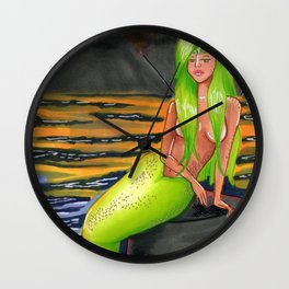 Peridot (August) Wall Clock