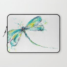 Watercolor Dragonfly Laptop Sleeve