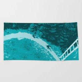 Two bikers Beach Towel