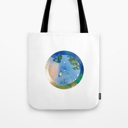 """The World in a Bowl """"Coppers"""" Tote Bag"""