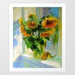 Sunflowers # 3 Art Print