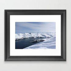 Blackstone Bay Framed Art Print