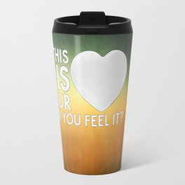 Bastille - Laura Palmer #4 (This Is Your Heart, Can You Feel It?) Travel Mug