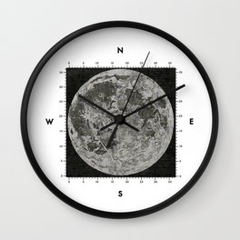 Moon Scale Wall Clock